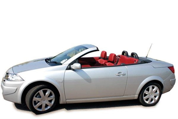Rent a Renault Megane Cabrio Automatic car in Crete
