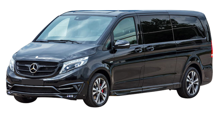 Rent a Mercedes-Benz Vito Van 9 Seater with Driver car in Crete