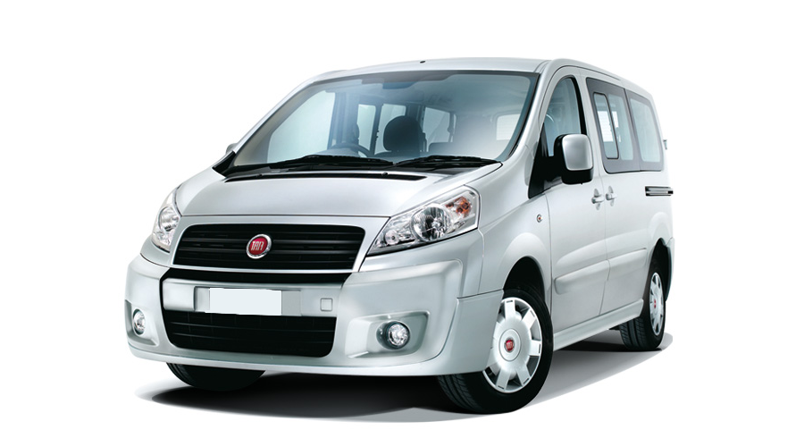 Rent a Fiat Scudo 9 seater or similar car in Crete