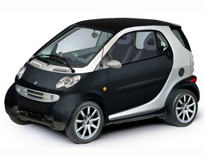 Rent a Smart Fortow car in Crete
